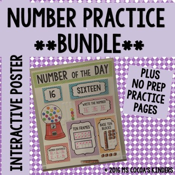 Number of the Day Poster BUNDLE