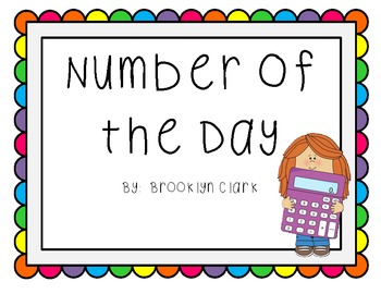 Number of the Day - Journal