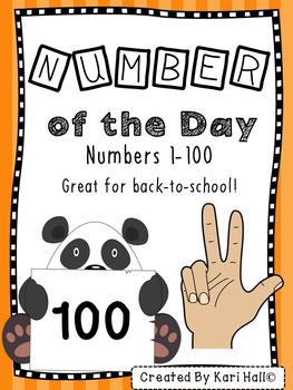 Number of the Day Journal (Numbers 1-100)