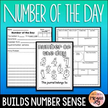 Number of the Day - Second Grade