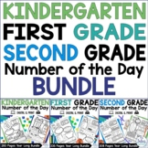Number Of The Day Worksheets with Digital   Number Sense A