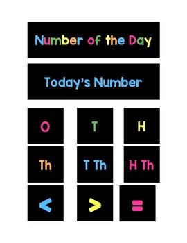 Number of the Day Magnets