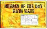 Number of the Day Math Mats!