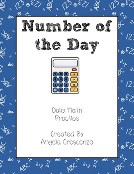 Number of the Day Math Practice
