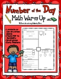 Number of the Day Math Warm Up