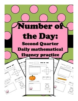 Number of the Day: Mathematical Fluency Practice 2