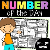 Number of the Day 2nd Grade | Number of the Day Worksheets