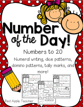 Number of the Day!--Numbers to 20 for K-1