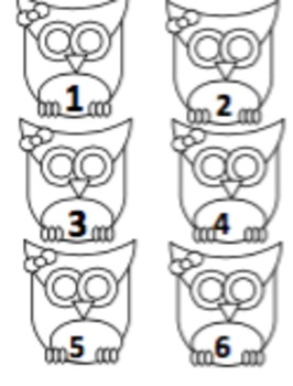 Number of the Day Owl Theme