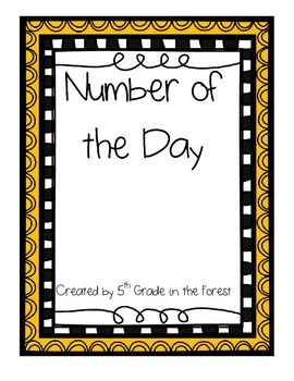 Number of the Day Pack