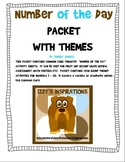 Number of the Day Packet With Themes