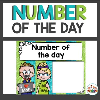 Number of the Day Posters