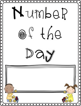 Number of the Day Posters: 4-Digits