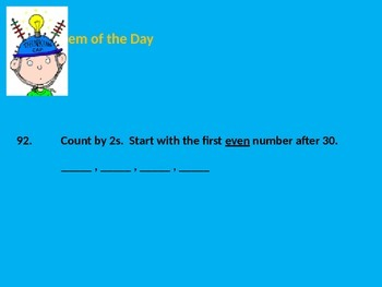 Number of the Day Power Point (for every day of school)