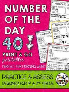 Number of the Day - Print & Go
