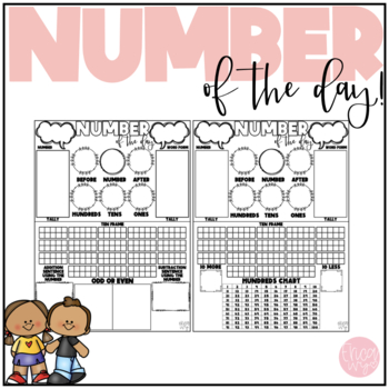 Number of the Day- Quick, Simple, and fun!