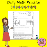 Place Value and Number Sense Daily Math Practice