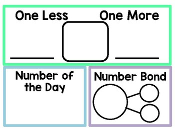 Number of the Day Set {Pastel Colors}