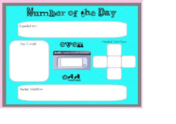Number of the Day (Smartboard)