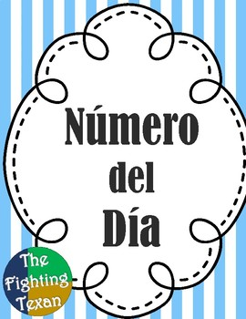 Number of the Day (Spanish)