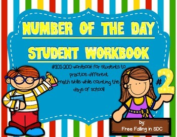 Number of the Day Student Wordbooks #2 (interactive work for #101-200)