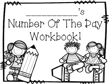 Number of the Day Student Workbooks