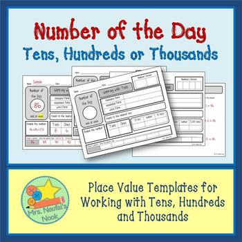 Number of the Day - Tens, Hundreds or Thousands
