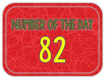 Number of the Day - Term 1