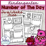 Number of the Day (Valentine *FREEBIE* Numbers 11-20} Kind