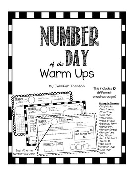 Number of the Day Warm Ups