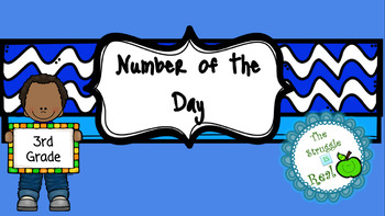 Number of the Day Week 1