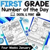 First Grade Number Sense Place Value Digital   Number of t