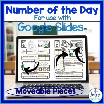 Number Sense Place Value Practice Number of the Day New Year
