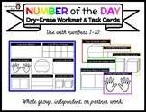 Number of the Day [Workmat & Task Cards]