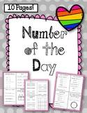 Number of the Day Worksheets.
