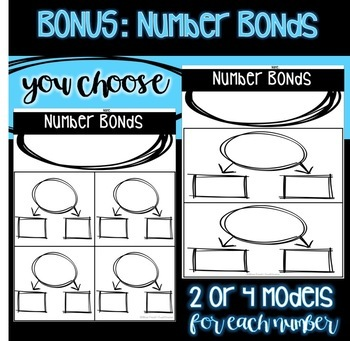 Number of the Day and Number Bonds {EDITABLE}