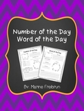 Number of the Day and Word of the Day