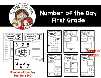 Number of the Day for First Grade