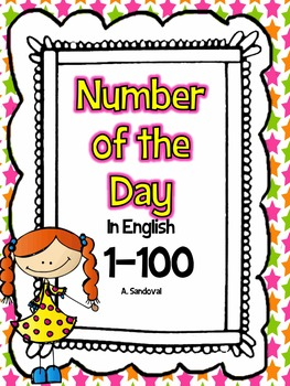 Number of the Day in ENGLISH