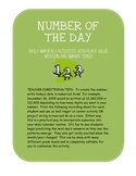 Number of the Day:  numeracy, place value, and notation us