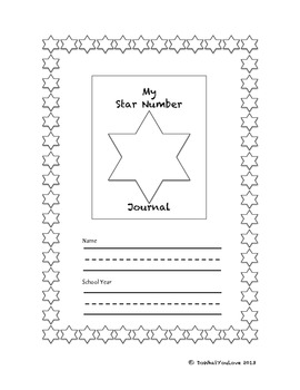 Number of the Day or Star Number Math Journal for 10-30