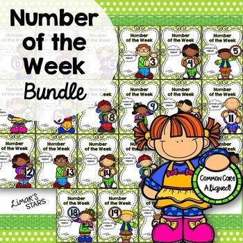 Number of the Week 0-20 BUNDLE