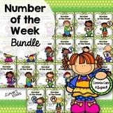 Number of the Week 0-20 BUNDLE {Back to School}