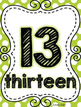 Number of the Week: 13
