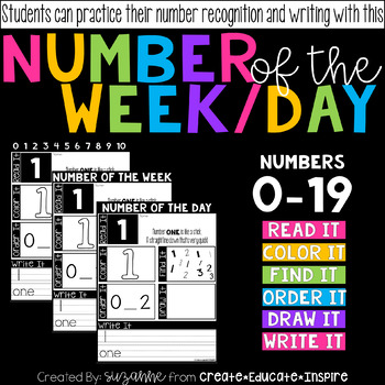 Number of the Week/Day