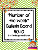"""Number of the Week"" Bulletin Board #0-10"