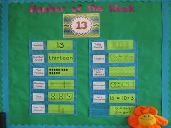 """Number of the Week"" Bulletin Board #11-20"