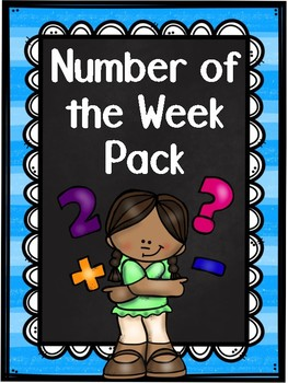 Number of the Week Morning Work (including Weekly Assessments) Pack