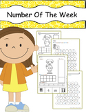 Number of the Week No Prep Worksheet (1 to 10)