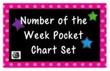 Number of the Week Pocket Chart Set!